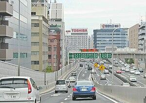 Shuto expressway shibaura jct ii