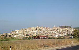 Momente - Siculiana, in Sicily, where the first version of Momente was begun