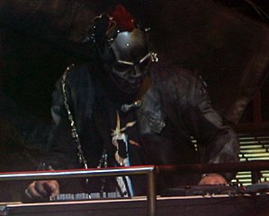Sid Wilson - Wilson performing with Slipknot in 2008