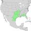 Sideroxylon lanuginosum range map 1.png