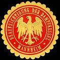 Siegelmarke Beaufsichtigung der Dampfkessel - Mannheim W0227229.jpg