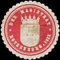 Siegelmarke Der Magistrat Rothenburg-Oder W0392493.jpg