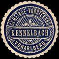 Siegelmarke Gemeinde-Vorstehung Kennelbach - Vorarlberg W0261580.jpg