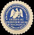 Siegelmarke Königlich Preussisches Grenadier - Regiment Kronprinz Friedrich Wilhelm (2t Schlesisches) No. 11, Füsilier - Bataillon W0238017.jpg