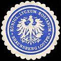 Siegelmarke Königliche Lyceum Hosianum - Braunsberg in Ostpreussen W0235156.jpg