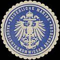 Siegelmarke K. Marine Nachrichtenkommissar Arensburg W0357512.jpg