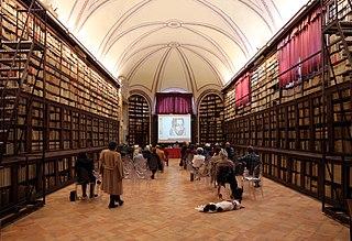 Biblioteca Comunale degli Intronati public library in Siena, Italy