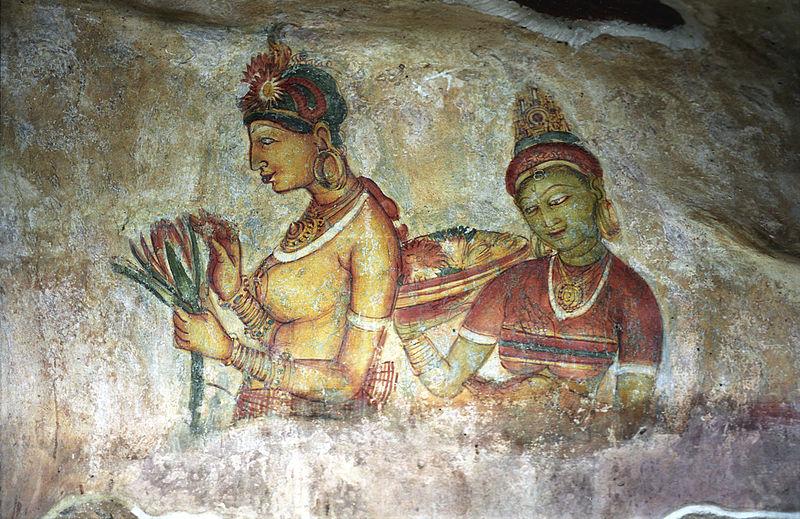 File:Sigiriya Fresco2(js).jpg