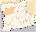 Simitli Municipality Blagoevgrad Oblast map.png