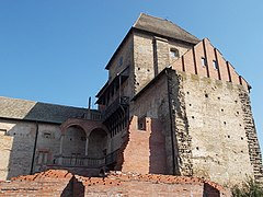 Simontornya Castle. Listed 8725. Gate and Old towers. - Hungary.JPG
