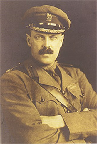 Tunnelling companies of the Royal Engineers - Major Sir John Norton-Griffiths MP, founder of the Royal Engineers tunnelling companies