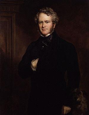 Edwin Landseer - Portrait by Sir Francis Grant (1852)