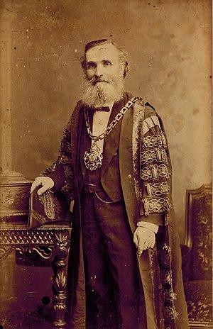 James Farmer (industrialist) - Photo of Sir James Farmer, Mayor of Salford, England, 1885