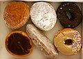 Six fresh Dunkin Donuts.jpg