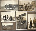 Six photographs of airmen, aircraft and vehicles at Camp Mohawk, one of the Royal Flying Corps' training camps near Deseronto, Ontario, during the First World War. One of the photographs shows an (6079888528).jpg