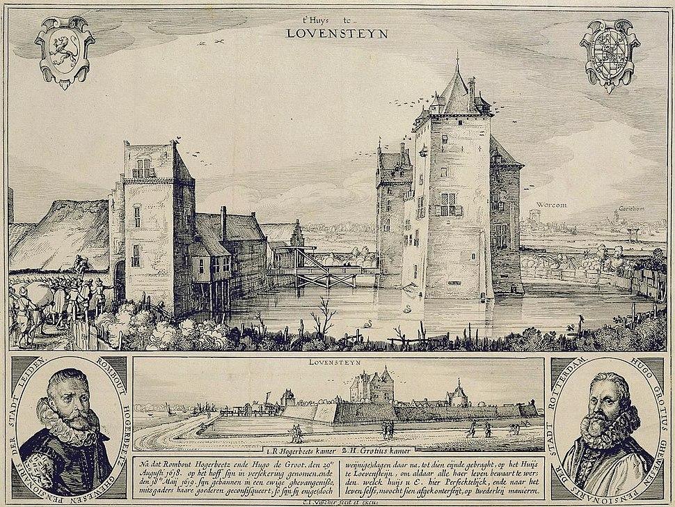 Slot loevestein 1619