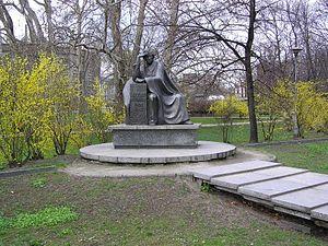 Juliusz Słowacki - Słowacki monument, Wrocław