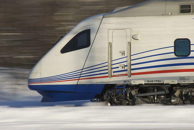Между Петербургом иХельсинки вновогодние праздники будут курсировать сдвоенные составы Allegro