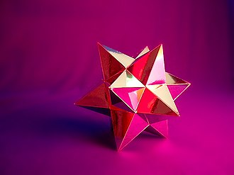 Small stellated dodecahedron - Image: Small Stellated Dodecahedron 1