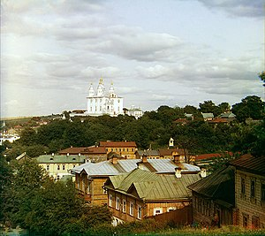 Assumption Cathedral in Smolensk - The Assumption cathedral as seen from the distance in 2011.