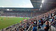 Soccermatch SchücoArena Bielefeld, Tribune