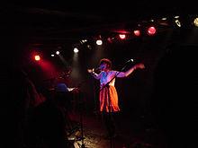 Soko performing at Loppen in Copenhagen, Denmark.