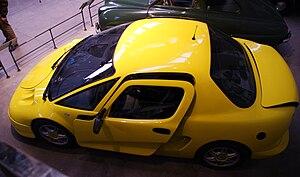 English: Solon, Swedish hybrid car. Svenska: S...