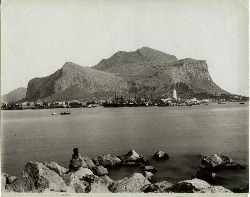 Sommer, Giorgio (1834-1914) - n. 9000 - PALERMO - Monte Pellegrino