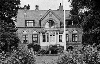 Sortedam Dossering - The house where C. V Jürgensen's mechanical workshop was based