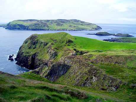 The Calf of Man seen from Cregneash Sound IOM.JPG