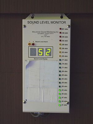 Sound level meter - Image: Sound Level Monitor