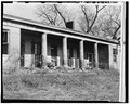 South front looking northeast. - Piatt's Landing, Upper East Bend Bottoms, Burlington, Boone County, KY HABS KY,8-BURL.V,1A-2.tif