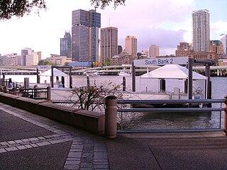 South Bank 1 & 2 ferry wharf