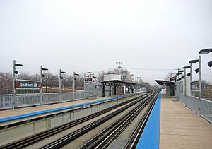 Southport station (CTA) - Southport station in 2008