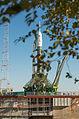 Soyuz TMA-10M spacecraft at the Baikonur Cosmodrome launch pad (5).jpg