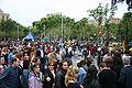 Spain.Barcelona.Diada.Sant.Jordi.Plaza.Universitat.03.JPG