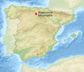 Spain Relief Map w Atapuerca.png