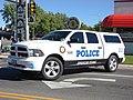 Spanish Fork City Police vehicle, Utah.JPG