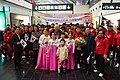 Special Olympics World Winter Games 2017 arrivals Vienna - South Korea team 01.jpg