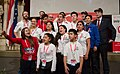 Special Olympics World Winter Games 2017 reception Vienna - Chile 01.jpg