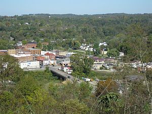 Spencer, West Virginia - Skyline of Spencer from a nearby park