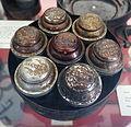 Spice box with original contents, undated - Bennington Museum - Bennington, VT - DSC08661.JPG
