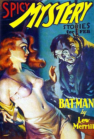 Pulp magazine - Spicy Mystery Stories, February 1936.