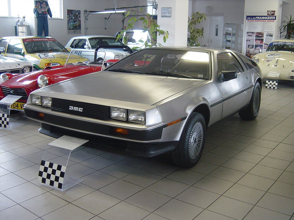 Delorean Dmc 12 Wikipedia Wolna Encyklopedia