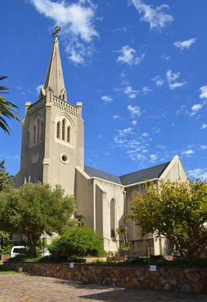 Evangelical Lutheran Church in Southern Africa (Cape Church) - The St. Martini Lutheran Church in Cape Town.