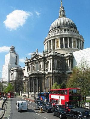 St. Paul's Cathedral, London, 2004. Picture ta...