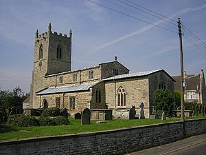 Northorpe, West Lindsey - Image: St.John the Baptist's church, Northorpe, Lincs. geograph.org.uk 47888