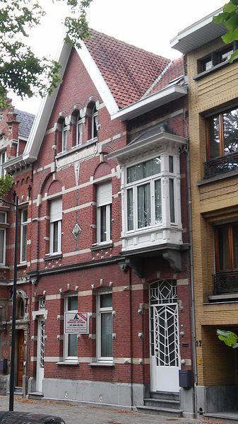 Burgerhuis neo-Vlaamse renaissance 1900