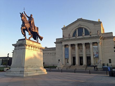 The St. Louis Art Museum in Forest Park St. Louis Art Museum.JPG