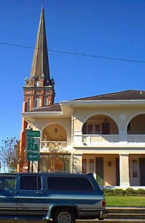 Abbeville, Louisiana - Image: St. Mary Magdalene Church abbeville